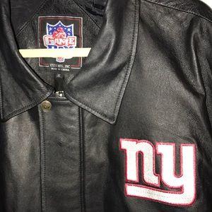 20669f2b0 Jackets   Coats - Men s genuine leather NFL New York Giants jacket